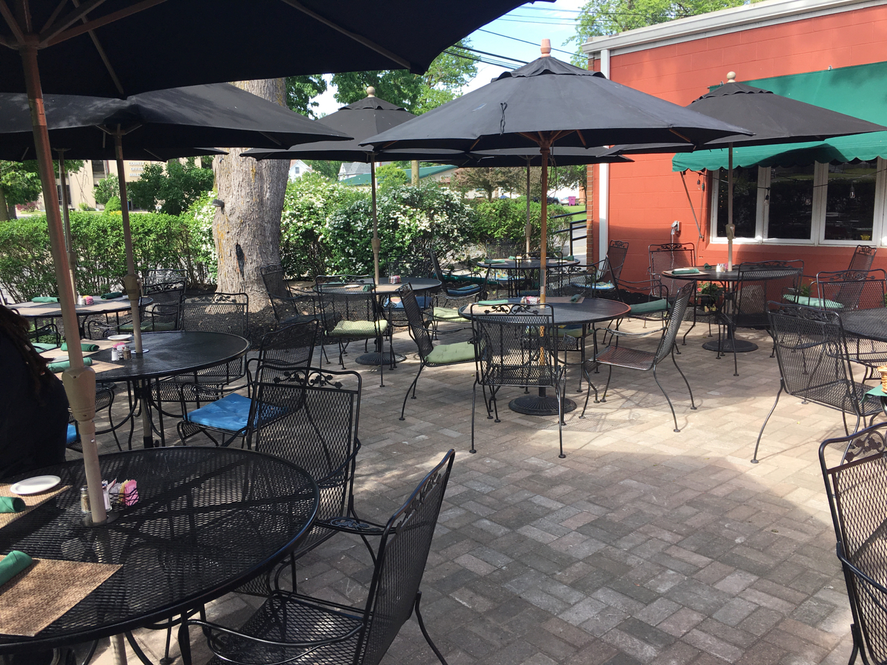 Enjoy Our Beautiful Outdoor Patio For Any Type Of Party, Or Dining On Warm,  Sunny Days.